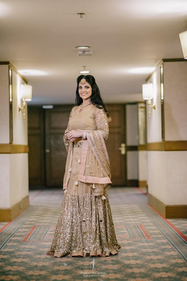 Rembrandt hotel Bangkok Indian Wedding Ceremony Sajinee and Raman