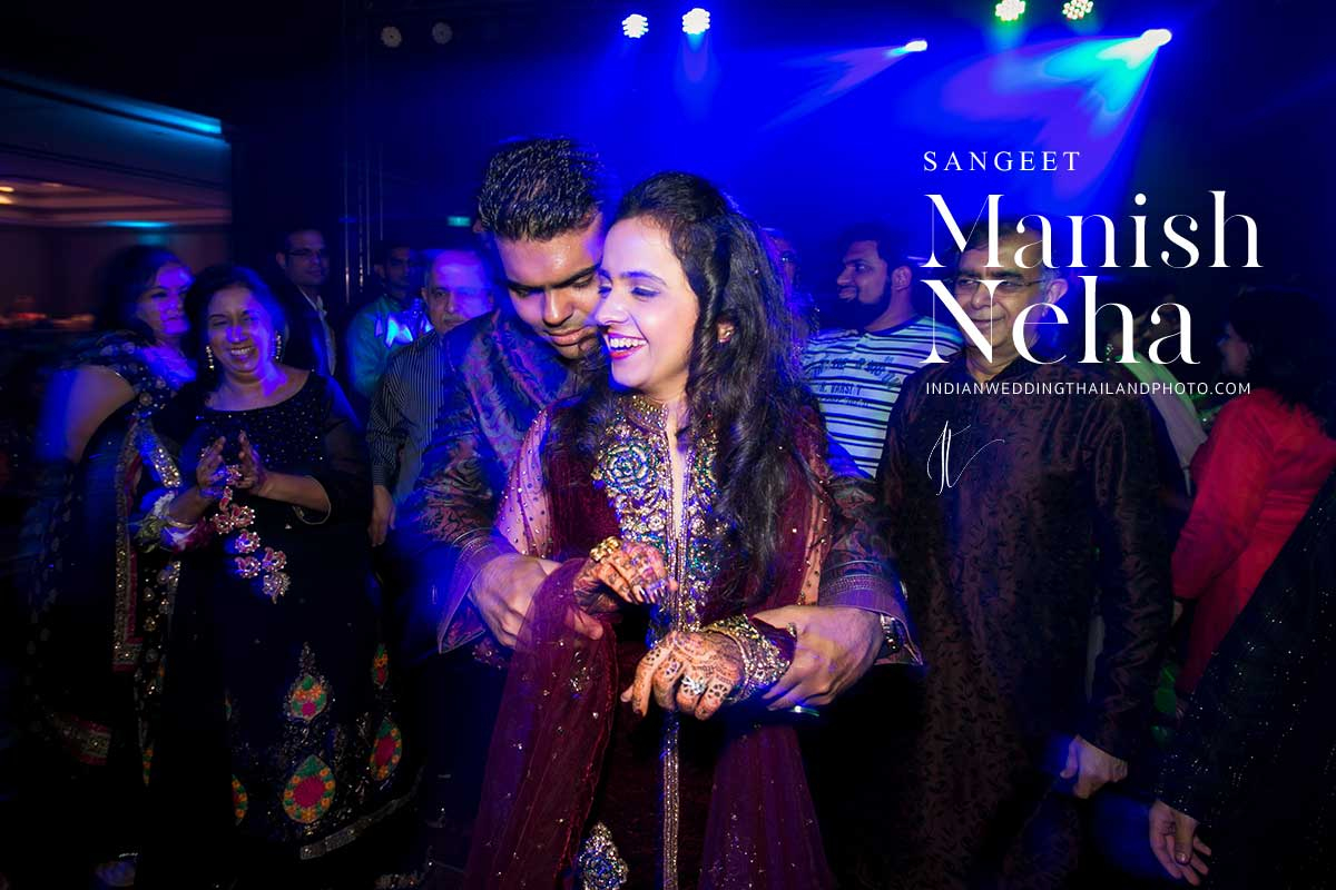 indian wedding sangeet ceremony neha cover