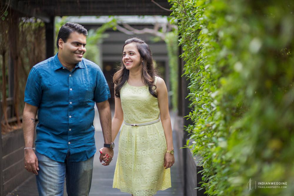 Indian Pre Wedding Photoshoot Anantara Riverside Bangkok