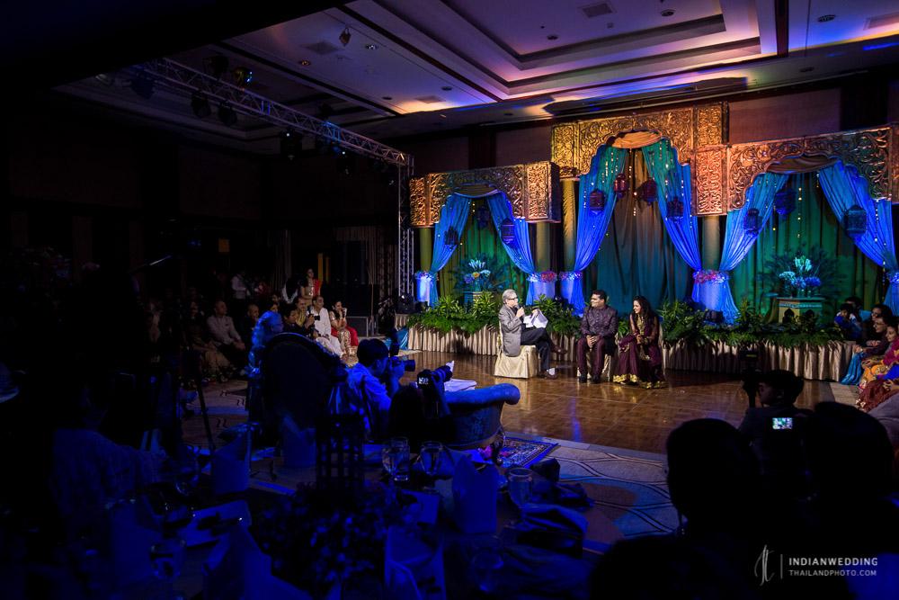 Sangeet Ceremony Dance Performance Wedding Bangkok Thailand