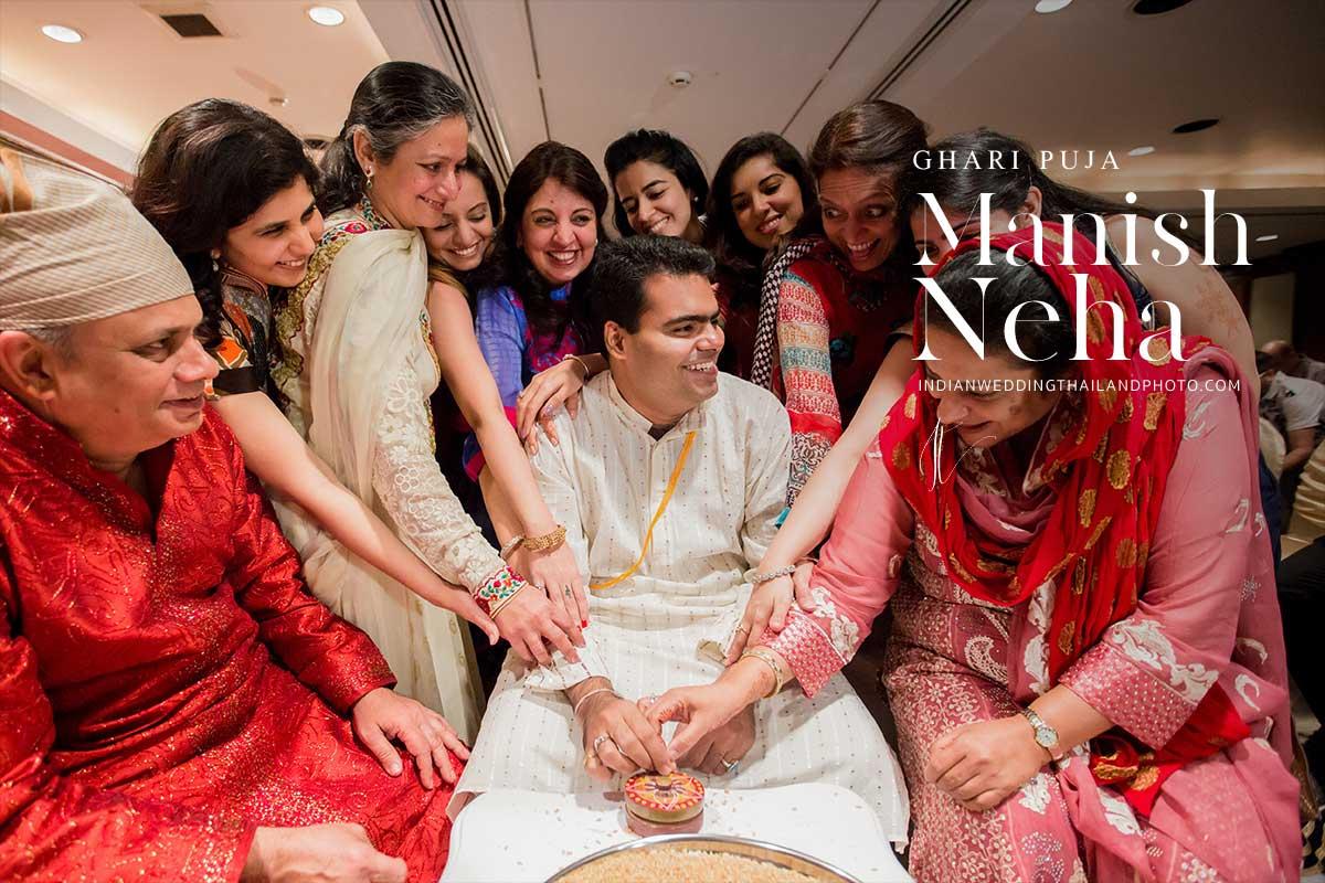 indian wedding ghari pooja neha cover