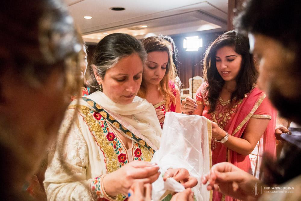 Anantara Riverside Bangkok Ghari Pooja Indian Wedding