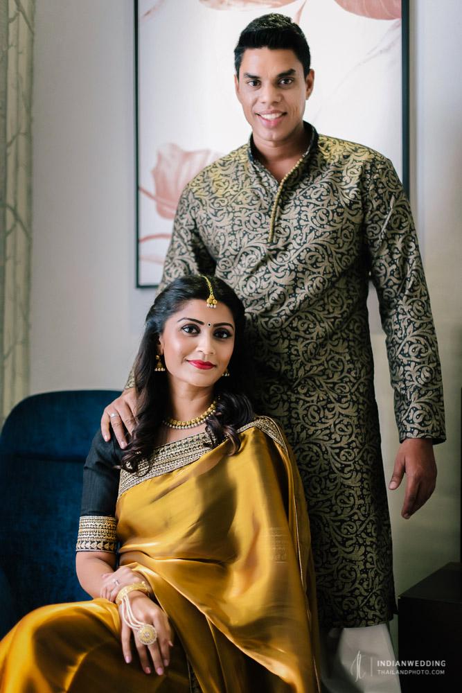 Indian Bangkok Honeymoon Pre Wedding Photoshoot Theeba & Sam