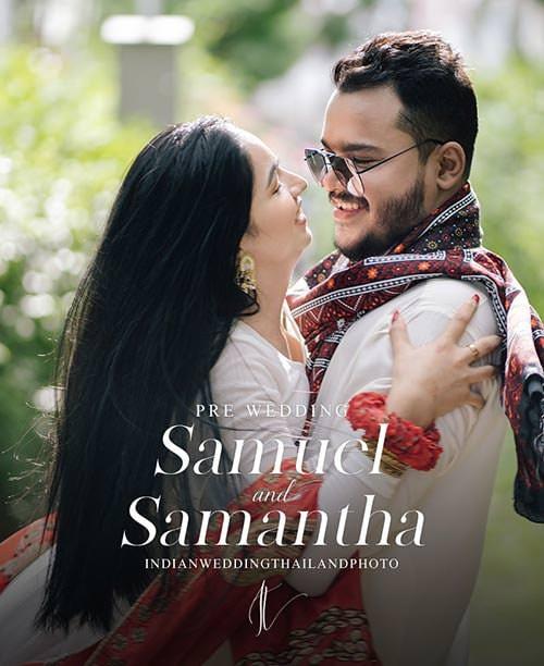indian bangkok pre wedding samuel samantha cover potrait 1