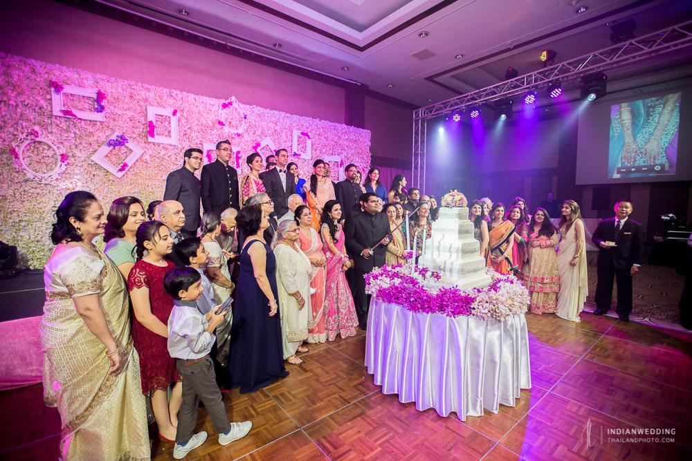 Indian Wedding Reception at Anantara Riverside Bangkok